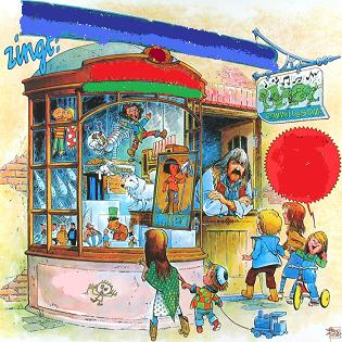 Peter Blanker - Peter Blanker Zingt de Muziekwinkel en 13 Andere Kinderliedjes (1977)