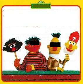 Bert en Ernie - Hoor Wie Klopt Daar Kinderen (en andere hits uit Sesamstraat!) / Een Sinterklaasfeestje Met Bert en Ernie! (1984)