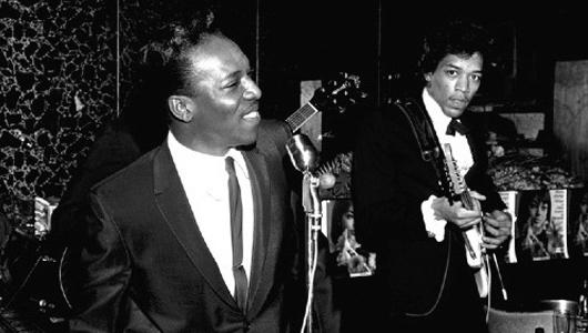 Wilson Pickett & Jimi Hendrix (1966)