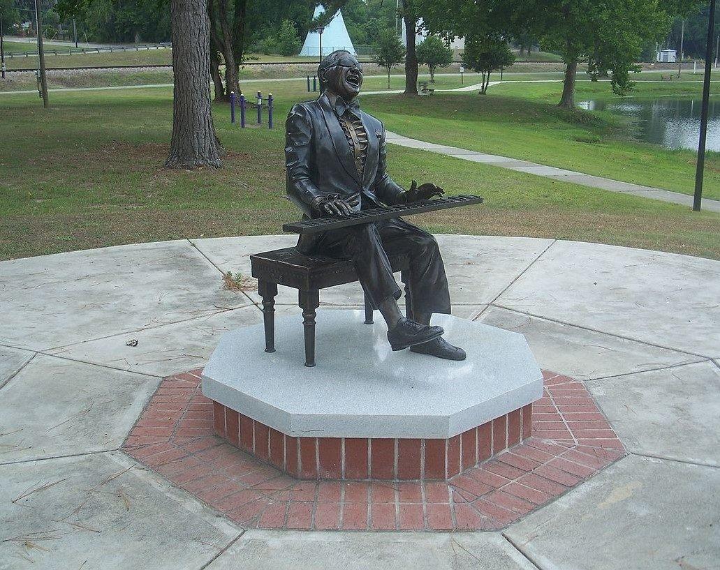 Ray Charles - Haffye Hays Park, Greenville, Florida (2006)