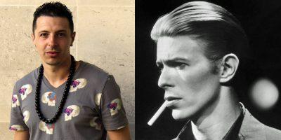 David Zowie (2015) & David Bowie (1975)