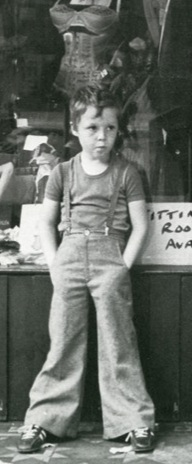 Baxter Dury - op de hoes van New Boots and Panties!! (1977)