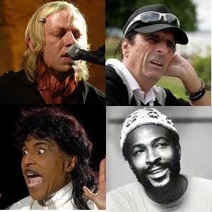 David Eugene Edwards/Alice Cooper/Little Richard/Marvin Gaye - Little Richard is dominee, David Eugene Edwards/Alice Cooper/Marvin Gaye zijn (klein)zoon van een dominee