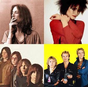 Patti Smith, Siouxsie Sioux, The Stooges, The Police - alleen The Police heeft hun door John Cale geproduceerde opnamen nooit uitgebracht