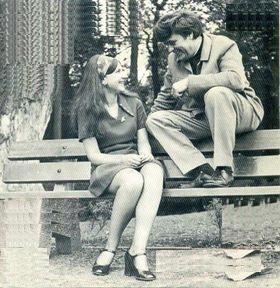 Marjan en Wim met de Heikrekels - Met Jou Op 'n Bankje (1971)