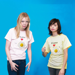 Garfunkel and Oates - All over your face (2011)