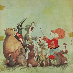 Jean Dulieu - Paulus de Boskabouter viert Sinterklaas (1966)