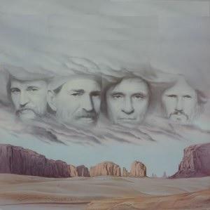 The Highwaymen (Waylon Jennings, Willie Nelson, Johnny Cash, Kris Kristofferson) - Highwayman (1985)