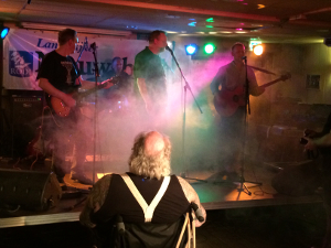 De Bikkels - Johannes de Boom in het publiek van het Rust Not festival (2014)