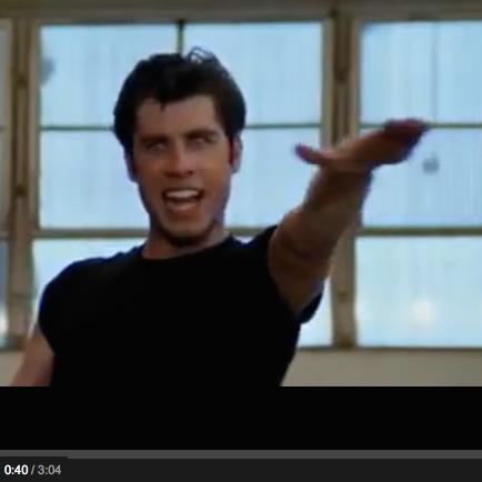 John Travolta - Greased Lightnin' (1978)
