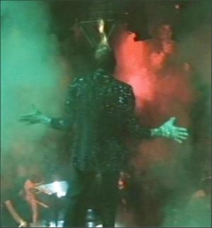 Michael Jackson - Tijdens de opnames voor een Pepsi-reclame (1984)