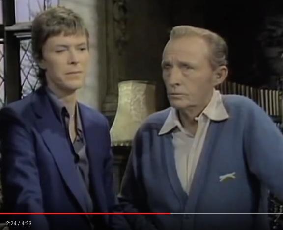 David Bowie & Bing Crosby - Peace on Earth/Little Drummer Boy (1977)