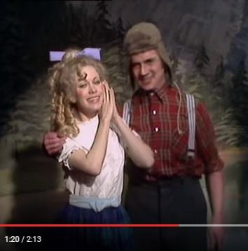 Monty Python - Lumberjack Song (1975)