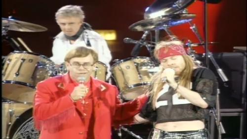 Queen & Elton John & Axl Rose - Bohemian Rhapsody (1992)