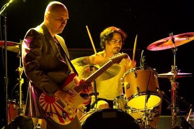 Billy Corgan & Brad Wilk (2014)