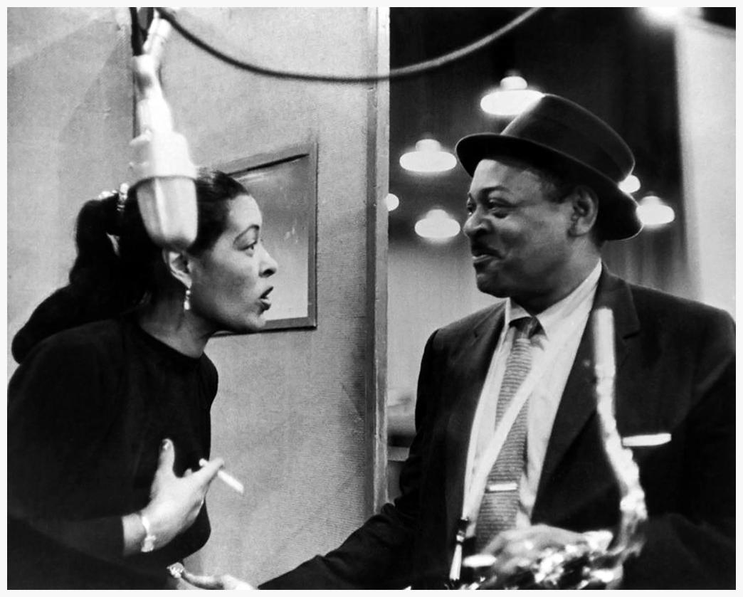Billie Holiday & Coleman Hawkins (1957)