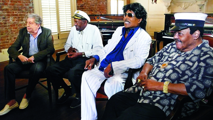 Jerry Lee Lewis, Chuck Berry, Little Richard, Fats Domino (2011)