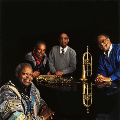 Oscar Peterson, Clark Terry, Benny Carter & Ray Brown - The More I See You (1995)